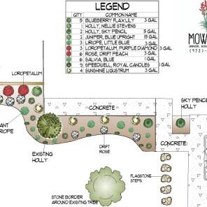 Front Flowerbed Design