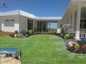 Front of House-left side-garage